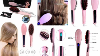Electric LCD Fast Hair Straightener