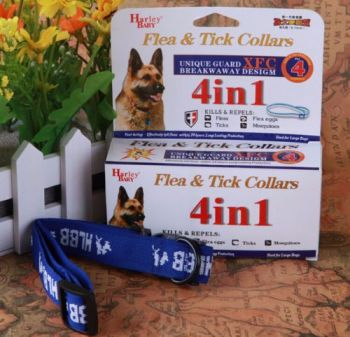 4 MONTH ANTI FLEAS & TICKS & MOSQUITOES DOG COLLAR