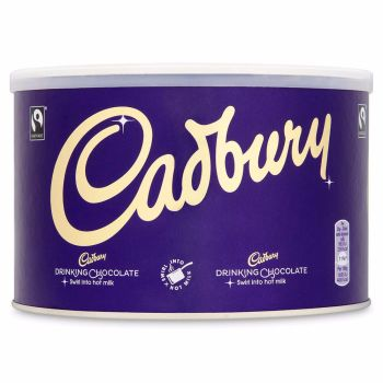 Cadbury Hot Chocolate Drinking Chocolate 1KG Tub
