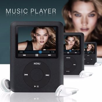 16GB MP5 MP4 MP3 Slim 1.8″ LCD Music Media Video Player FM-Radio Recorder