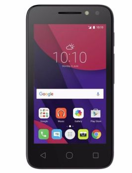 "Brand New Alcatel Pixi 4 4"" Smartphone Black"