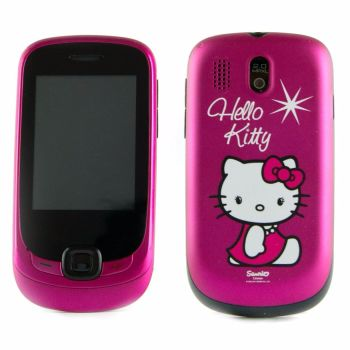 New Alcatel Hello Kitty Unlocked Kids Touchscreen Mobile Phone Smartphone
