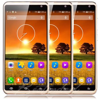 "Large Unlocked 5.5"" Android5.1 Mobile Smart Phone Dual SIM Quad Core 3G WIFI GSM"
