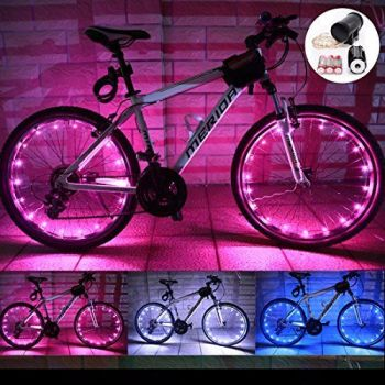 20 LED Bike Wheel Spoke Light Flash Lights