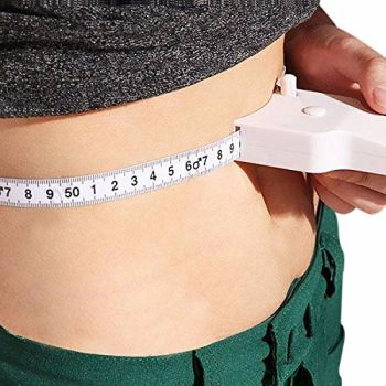 BMI Body Mass Index Retractable Tape Measure & Calculator For Diet Weight Loss