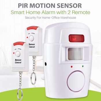 Wireless PIR Motion Sensor Alarm For Home
