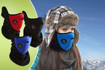 NEOPRENE NECK WARM HALF FACE MASK
