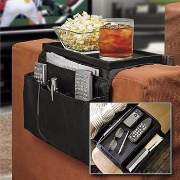 New Sofa Arm Rest Chair Settee Couch Remote Control Table Top Holder Organiser TrayProduct