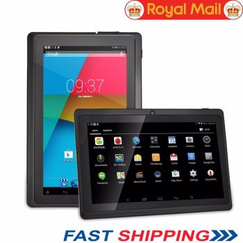 "Dual Camera 7"" Android 4.4 Quad Core Tablet 8GB WIFI HD Touch Screen"