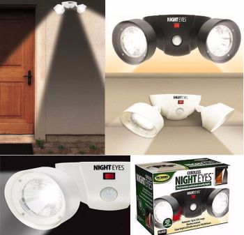 Cordless Night Eyes Motion Light Motion Activated Flood Security Outdoor LED