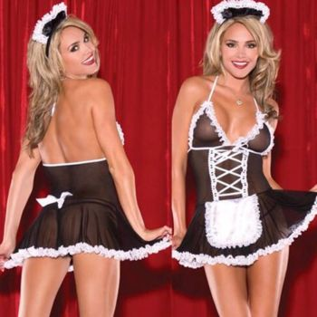Role Playing Temptation To Babydoll Suit - 11