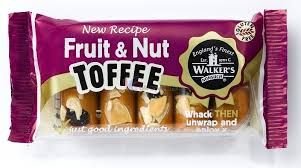 Walkers Nonsuch Andy Pack Bars 100 g Fruit & Nut (Pack of 10)