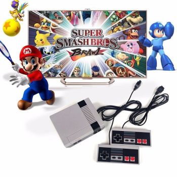 Classic Retro NEW Family Game Console Built-in 620 Games w/ 2 Controller