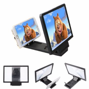 Portable Folding 3D Enlarged Mobile Screen Glass Magnifier