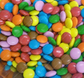 CHOCOLATE BEANS 1KG RETRO SWEETS