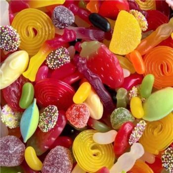 Vegetarian Sweet Assortment - 500g suitable for vegetarians pick n mix sweets