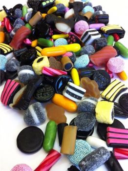 ASSORTED LIQUORICE SWEETS 500g