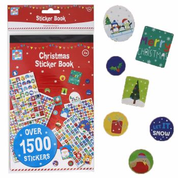 Kids Create Christmas Book of Stickers - Over 1500 Pieces