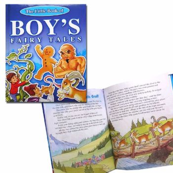 BOYS FAIRY TALES STORY PICTURE BOOK