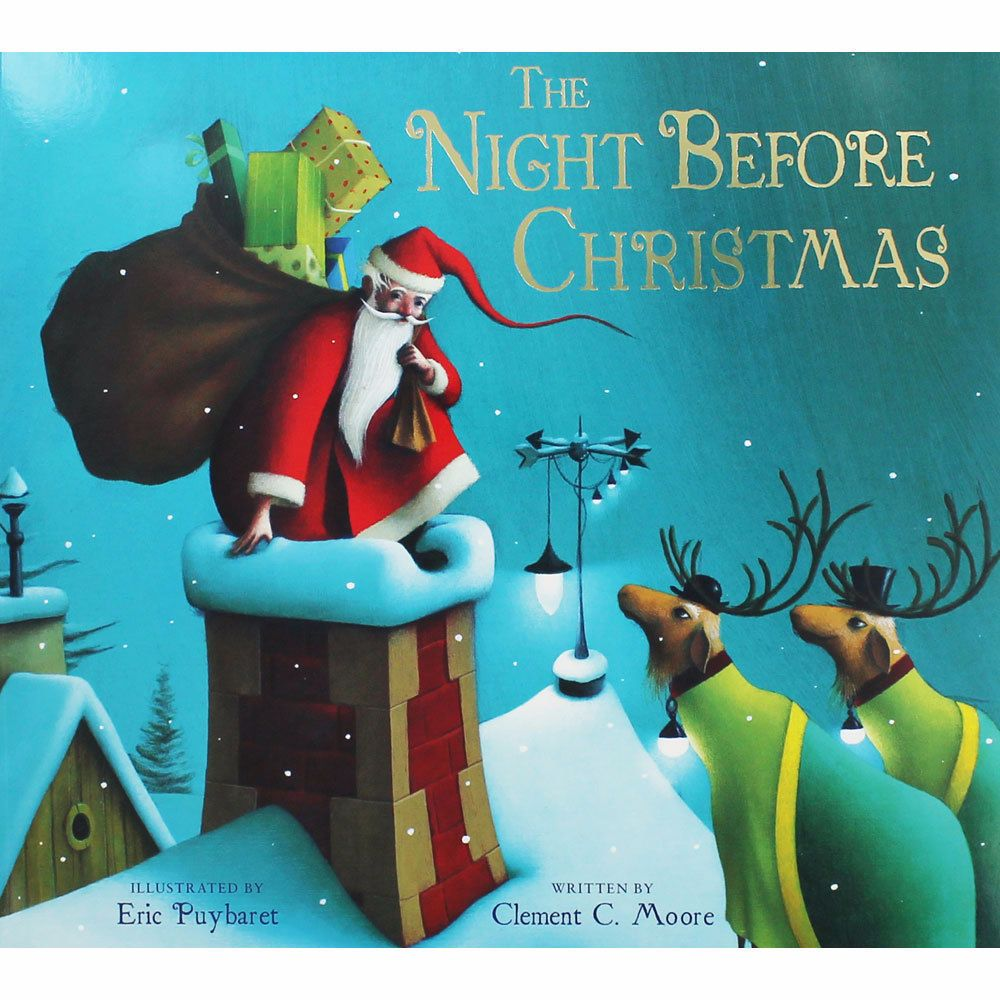 the night before christmas Clement c moore (1779–1863), an american scholar and poet, first wrote the night before christmas in 1822 to entertain his children a friend submitted it to a local newspaper, the troy sentinel, where it was published on december 23, 1823.