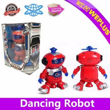360-Rotating-Electronic-Dancing-Walking-Robot-with-Light-and music