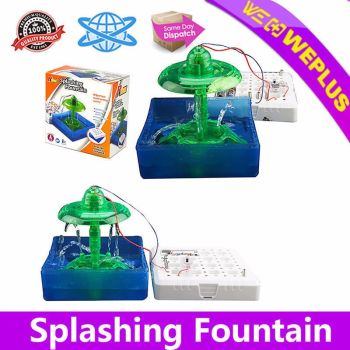 DIY-Connex-Splashing-Fountain-Toy-Games-Educational-Science-Learning Kit