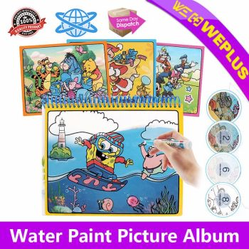 Kids Painting Magic Water Drawing Coloring Book Paint with Water