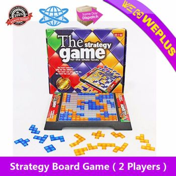 Strategy Board Game Educational Toy Kid Children Family Party 2 Players