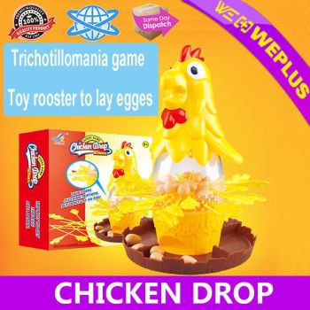 Pluck Chicken Drop game Childs family game