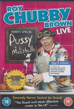 Roy Chubby Brown Live - Pussy and Meatballs [DVD]