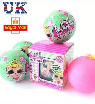 LOL Lil Outrageous 7 Layers Surprise Ball Series 2 Doll