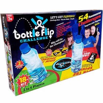 18PC BOTTLE FLIP GAME BOARD