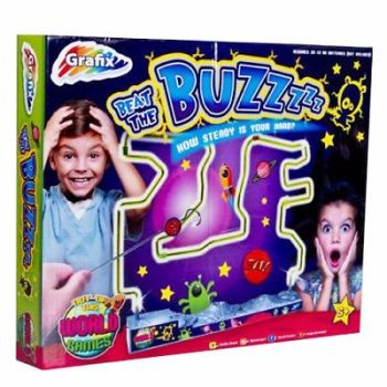 BEAT THE BUZZER GAME WIRE PUZZLE