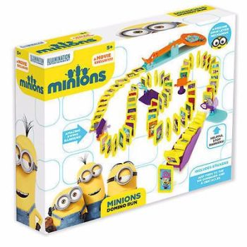 DESPICABLE ME MINIONS DOMINO RUN RALLY SET