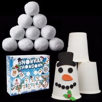 SNOWMAN SHOWDOWN CUP STACKING GAME