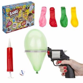 LUCKY BALLOON PARTY ROULETTE GUN PISTOL BANG GAME