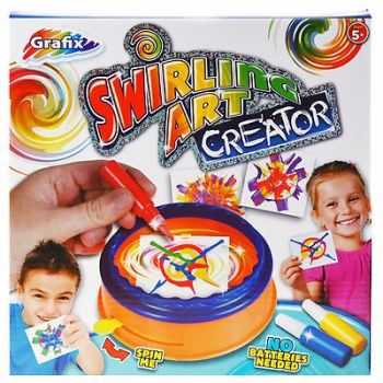 SWIRLING ART CREATOR CREATIVE KIDS