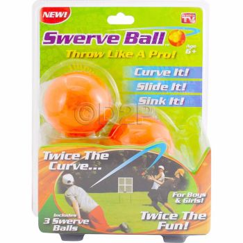 SWERVE BALL SET BASEBALL FUN