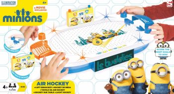 DESPICABLE ME MINIONS AIR HOCKEY ARENA GAME