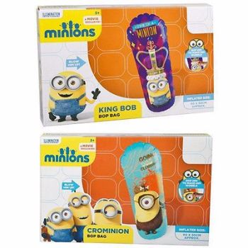 MINIONS MOVIE INFLATABLE PUNCH BOP BAG