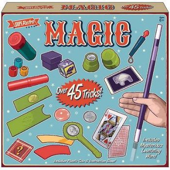 DELUXE MAGICIANS MAGIC SET