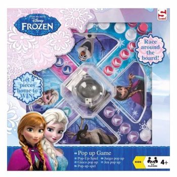 DISNEY FROZEN POP UP GAME