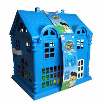 KIDS JUMBO PLAY HOUSE WITH BUILDING BLOCKS