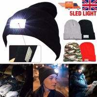 5 LED Light Cap Beanie Hat