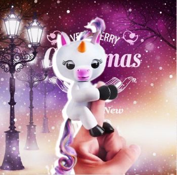 UNICORN GIGI FINGERLING INTERACTIVE