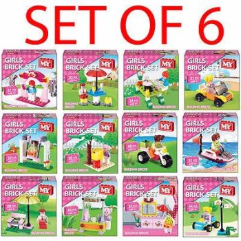 SET OF 6 BUILDING BLOCKS