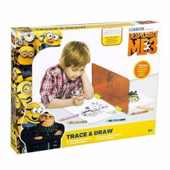DESPICABLE ME 3 MINIONS TRACE & DRAW CRAFT