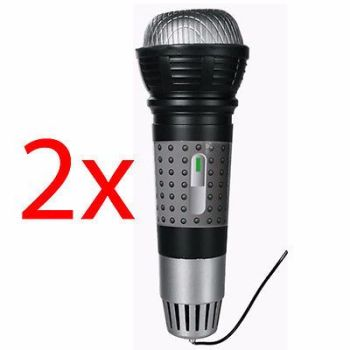 2 X MAGIC MICROPHONE