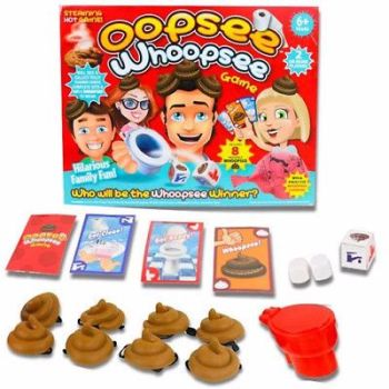 OOPSEE WHOOPSEE FUN KIDS BOARD GAME