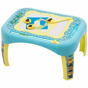 DESPICABLE ME MINIONS 2 IN 1 ACTIVITY DESK